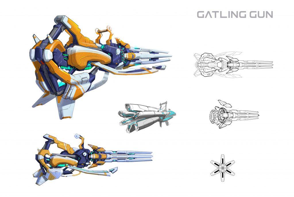 Skyfront VR Gatling Gun Concept